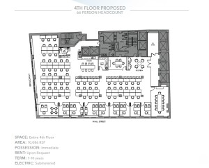 10,086 SF Build-to-suit Office.Asking $55