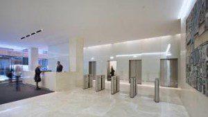 Modern Lobby at 295 Madison Avenue