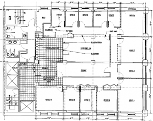 Efficient Private Floor  5,588 RSF  Asking $50 PSF