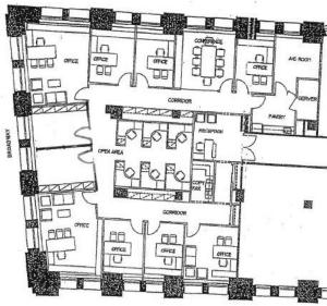 5,822 RSF Broadway Landmark Incudes furniture & phones Asks $32, Term 2016