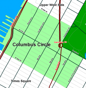 Renting an Office in Columbus Circle