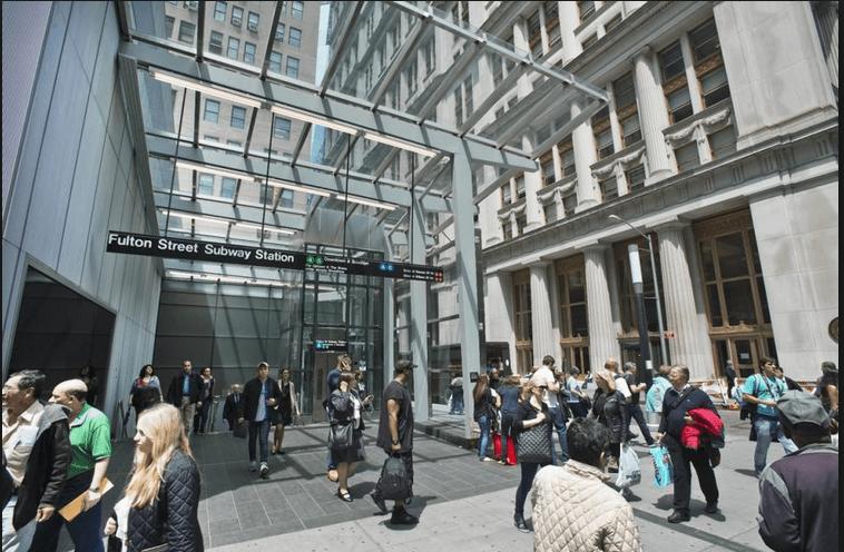 Lower Manhattan Office Rental Rates in Q3 2014
