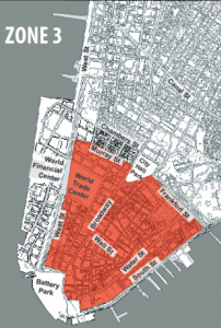 Lower Manhattan Revitalization Plan Map of Eligible Buildings
