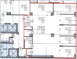 Class A building, Madison & 51st Street Newly built high-end 3,502 RSF, asking $59 Term 2022