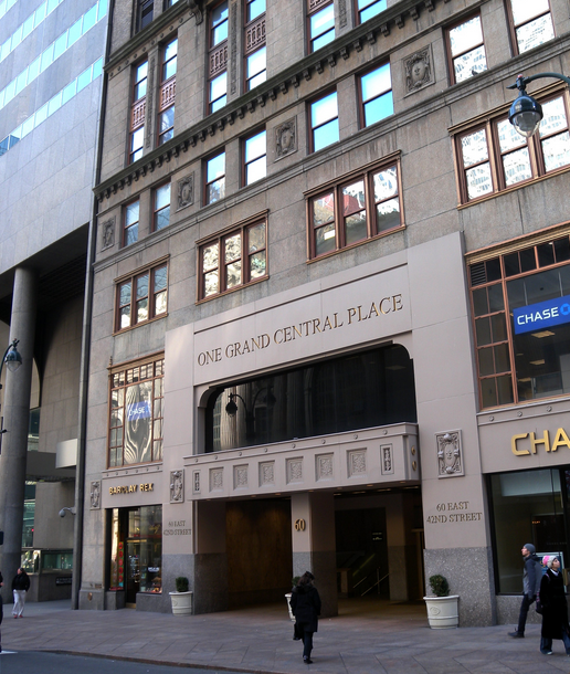 Renting and Office at One Grand Central Place