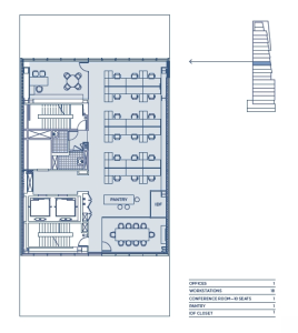 Pre-buiilt 11th Floor 3,718 RSF