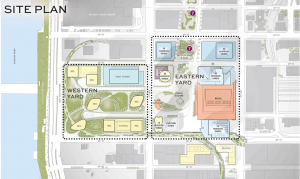 Site Plan- Hudson Yards Office Space